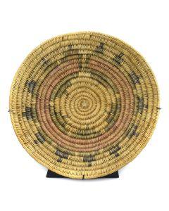 """Navajo Polychrome Wedding Basket c. 1900-20s, 3"""" x 15.25"""""""