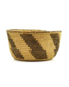 "Pima Coil Basket c. 1920s, 4"" x 7.5"""