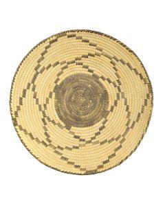 "Pima Basket with Geometric Design c. 1920s, 2.25"" x 10"""