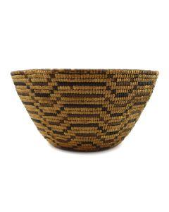 "Thompson River Salish Basket c. 1890s, 5.5"" x 10.5"""