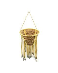 """Apache Burden Basket c. 1950s, 8"""" x 10.5"""""""