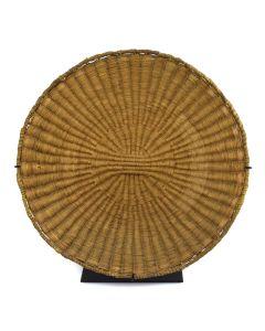 "Hopi Wicker Plaque c. 1900s, 2.25"" x 12.75"""