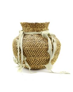 "Havasupai Basket c. 1900s, 7.5"" x 8.5"""