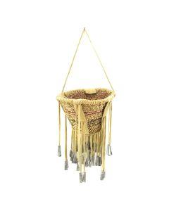 """Apache Burden Basket c. 1960s, 9"""" x 6.75"""""""