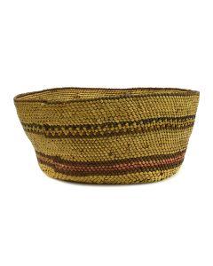 "Makah Basket c. 1900-10s, 3.25"" x 7"""