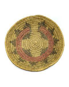 "Navajo Wedding Basket c. 1940s, 2.5"" x 10.5"""