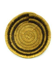"""Tohono O'odham Basket Tray c. 1940s, 1.25"""" x 5"""""""