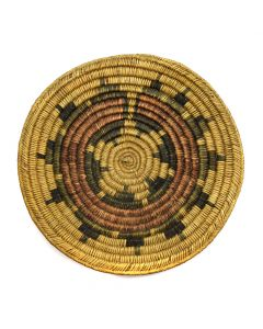 "Navajo Wedding Basket c. 1930s, 3"" x 14"" (SK2918)"