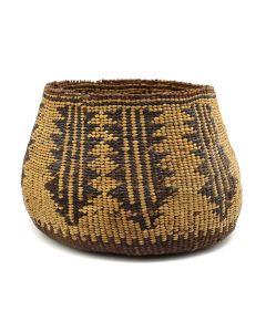 "Achumawi (Pit River) Basket c. 1900s, 4.5"" x 6.5"" (SK2932)"