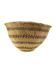 "Havasupai Basket with Banded Design c. 1930-40s, 10.25"" x 17"" (SK2959)"