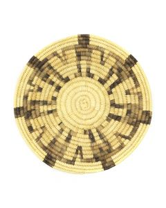 "Tohono O'odham Friendship Basket with Variegated Figures c. 1960s, 1.25"" x 11.25"" (SK2977)"