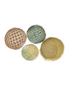Group of 4 - Hopi Sifter Baskets c. 1960s (SK3106)