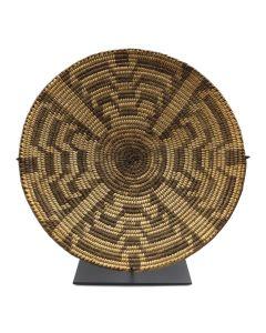 "Pima Basket with Geometric Design c. 1910s, 1.25"" x 12"" (SK90301A-048-003)"