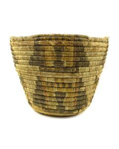 "Hopi Coiled Kachina Basket c. 1920s, 8"" x 10.5"""