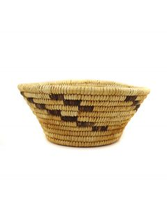 "Tohono O'odham Basket c. 1940s, 3.75"" x 7.75"" (SK90803-0721-003)"