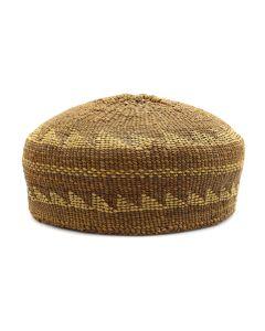 "Hupa Hat c. 1910s, 3"" x 5.25"" (SK90814-0920-009)"