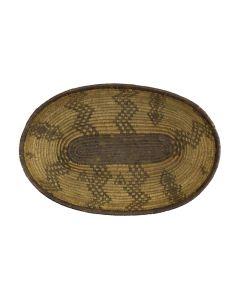 """Apache Oval Basket c. , 3"""" x 10.75"""" x 7.25"""""""