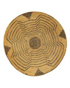 """Pima Basket c. 1900s, 4.25"""" x 14.5"""""""