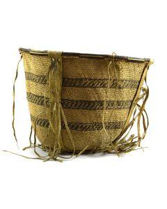 """Apache Burden Basket c. 1890-1900s, 10.5"""" x 14"""""""