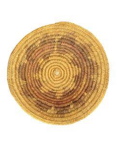 "Navajo Wedding Basket, circa 1950s, 14"" x 3"""