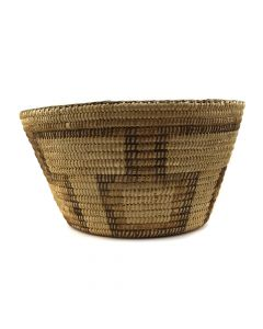 "Pima Polychrome Basket c. 1890s, 7.5"" x 14"" (SK91819-125-004)"