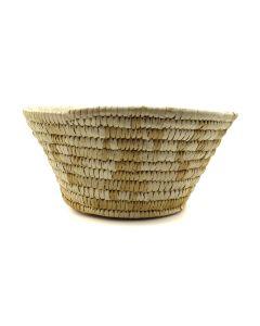 "Tohono O'odham Basket c. 1950s, 4"" x 8.5"" (SK91819-125-025)"