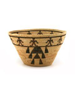"Mono Friendship Basket c. 1920s, 4.25"" x 7.5"" (P91924-0913-006)"