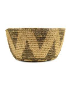 """Pima Basket c. 1920s, 4"""" x 8"""""""
