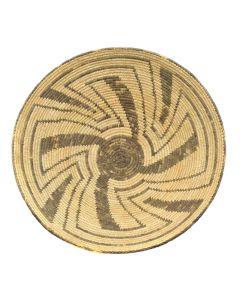 """Pima Basket c. 1900-20s, 6.5"""" x 18.5"""""""