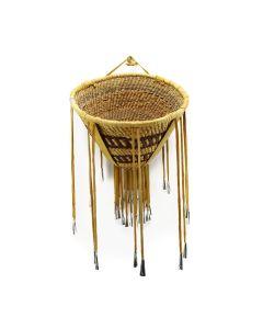 """Apache Burden Basket c. 1940-50s, 9.5"""" x 13"""""""