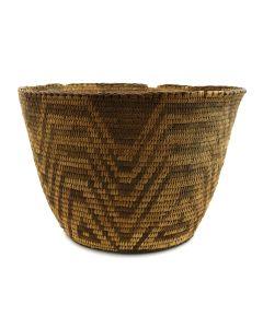 """Pima Basket c. 1890-1900s, 7"""" x 8"""""""