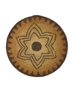 "Apache Tray with Star Design c. 1920s, 1.75"" x 11"" (SK92306-0920-001)"