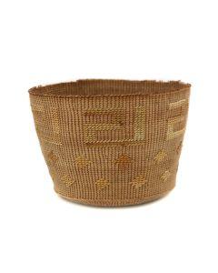 """Tlingit Basket c. 1900s, 3"""" x 5"""" (SK92348A-0621-041)"""
