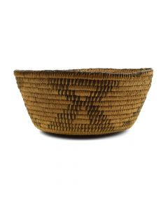 """Pima Basket c. 1900-10s, 3"""" x 6.5"""""""