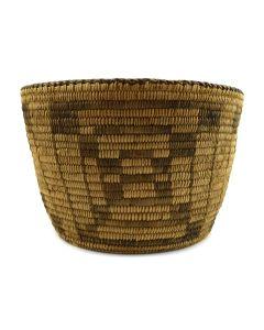 """Pima Basket c. 1910-20s, 7"""" x 10.5"""""""
