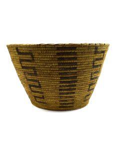 "Tohono O'odham Basket c. 1930-40s, 8.25"" x 13.25"""