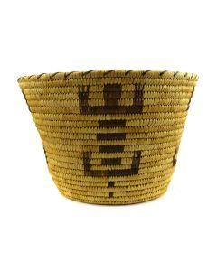 "Tohono O'odham Basket c. 1940-50s, 8"" x 12"""