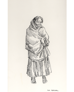 SOLD Don Perceval (1908-1979) - Old Navajo Lady