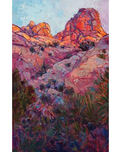 SOLD Erin Hanson - Boulder Dawn