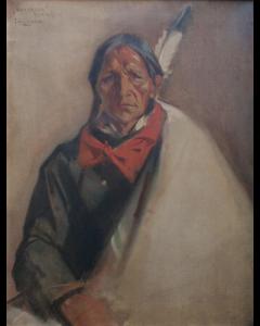 SOLD Julius Rolshoven (1858-1930) - Sun Arrow