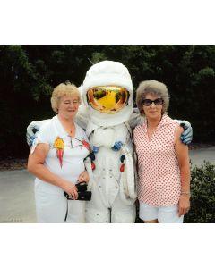 Nathan Benn - Space Tourists, Kennedy Space Center, Florida, 1981