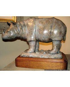 Shirley Thomson-Smith - Rhino - Which Way Did He Go