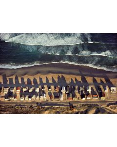 Nathan Benn - Summer Beach Houses, Salisbury Beach, Massachusetts, 1978