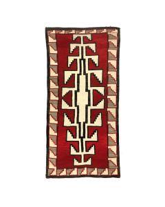 "Large Navajo Klagetoh Runner c. 1930s, 152"" x 69"" (T1924)"
