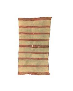 "Navajo Double Saddle Child's Blanket with Indigo Dye c. 1870-80s, 49"" x 28"" (T3014)"