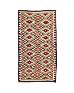"Lot 319 - Large Navajo Ganado Runner c. 1930s, 131"" x 70"" (T3088)"