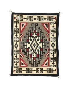 "Navajo Klagetoh Rug, c. 1930, 83.5"" x 63.5"""