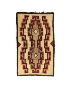 "Navajo Klagetoh Rug c. 1910-20s, 87"" x 50.5"" (T3279)"