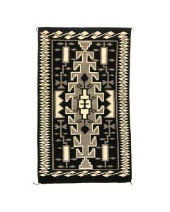 "Large Navajo Klagetoh Rug c. 1950s, 123.5"" x 71.5"" (T3659)"