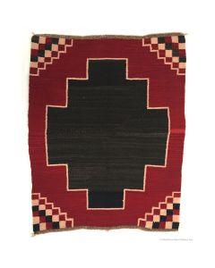 """Navajo Ganado Rug, c. 1920, 38"""" x 31"""""""